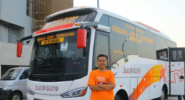 Peluncuran Bis Baru Bagong Jalur Tol dan Non Tol Tulungagung, Kediri dan Surabaya
